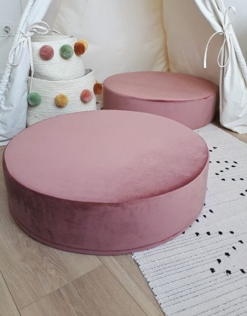 ROUND DIRTY PINK